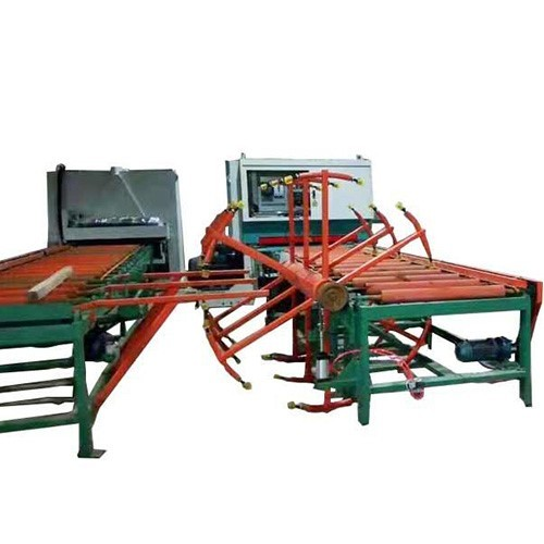 Sanding machine assembly line